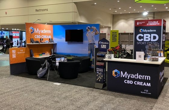 10x20 Duo Display Trade Show Booth