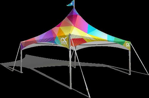 20x20 Custom Print Canopy Tent
