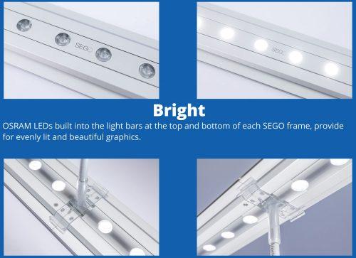 Custom Backlit - BRIGHT!