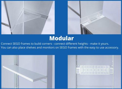 Custom Backlit - Modular