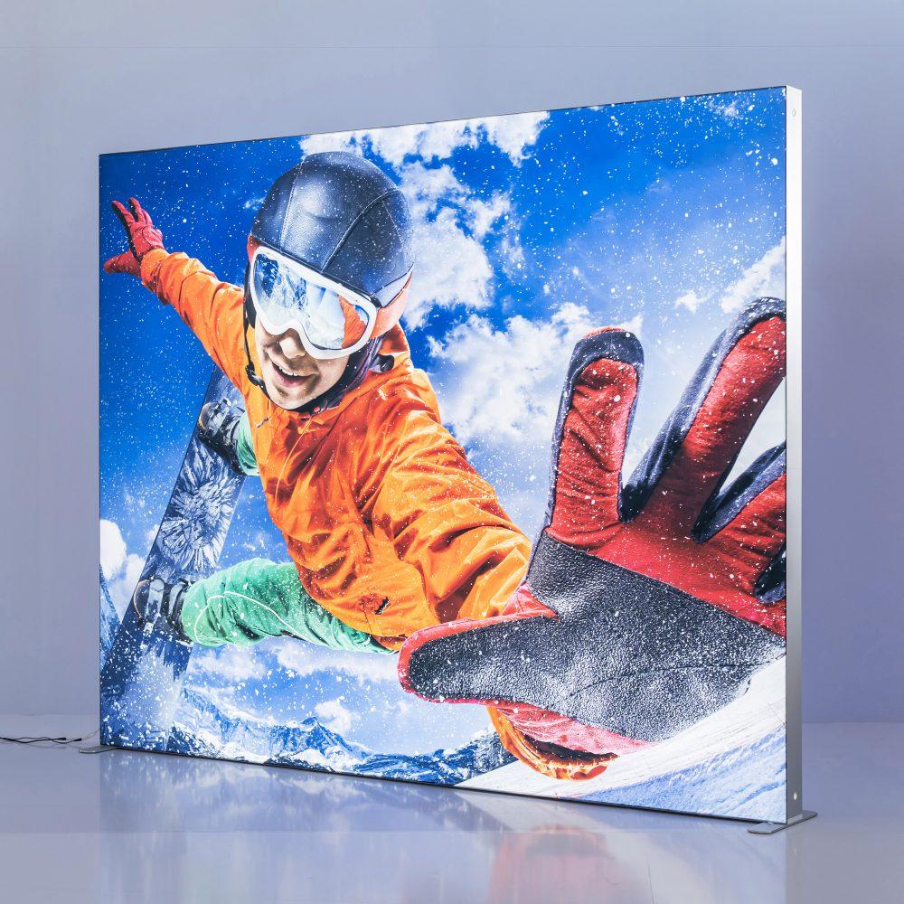 Custom Printed SEG Lightbox 10 ft