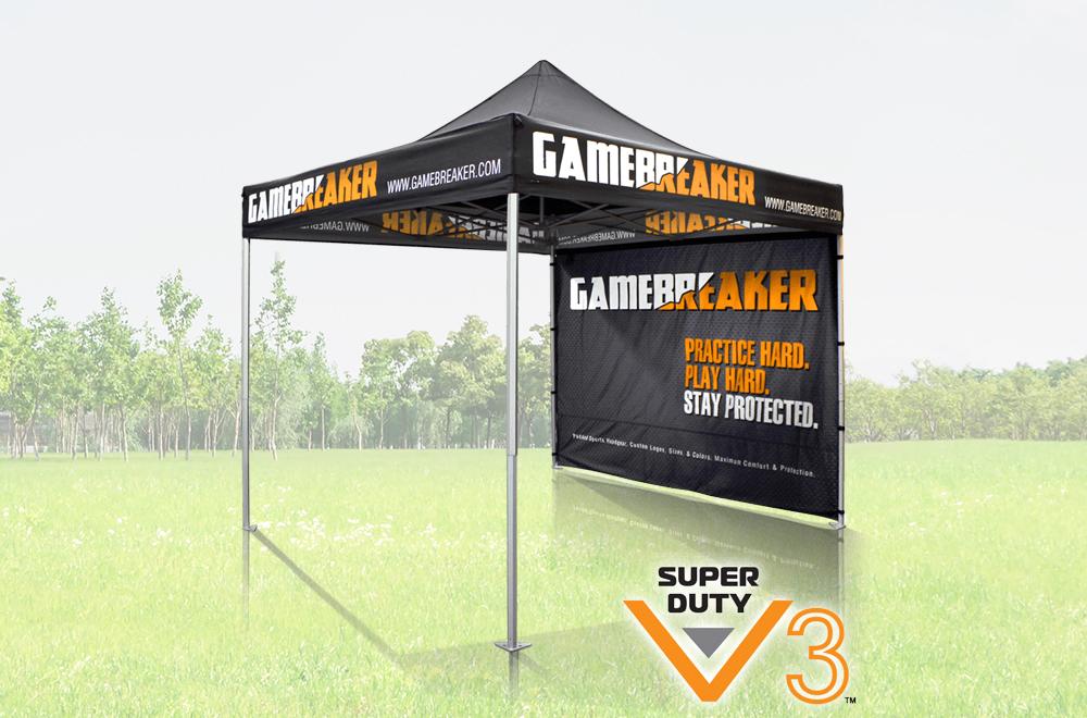 Premium Tent Custom Printed