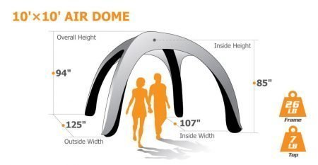 10x10 Inflatable Tent