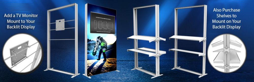 Portable Backlit Display Accessories