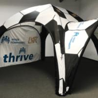 Custom Printed Inflatable Tent