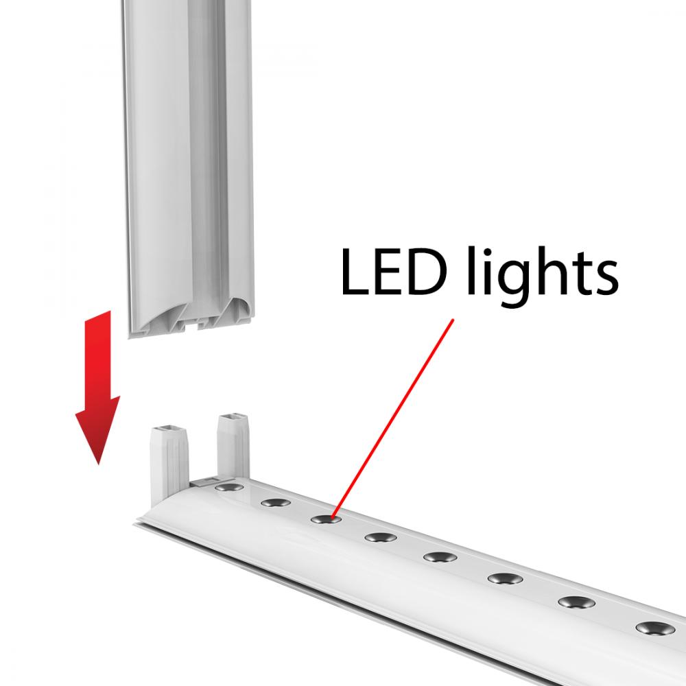 LED Backlit Hardware 1