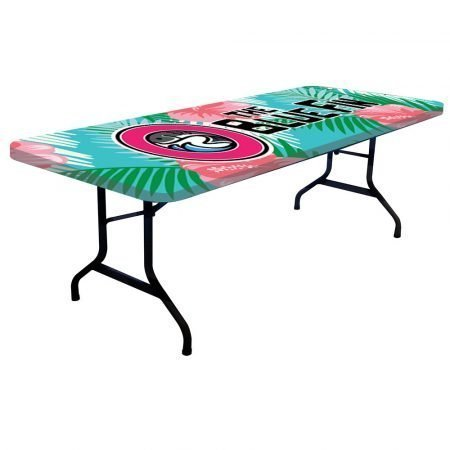 8ft table cover - topper